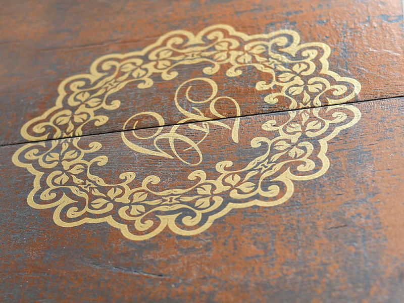 Baroque Rust detail- Fes - exclusive parquet made in Italy