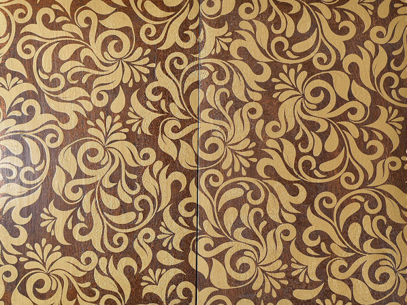 Chocolate Lily - Fes - exclusive parquet made in Italy