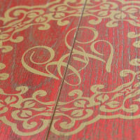 BAROQUE CARDINAL detail - Fes - exclusive wood flooring