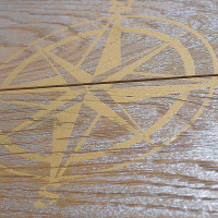 Silver Ocean Star detail - Fes - exclusive parquet made in Italy