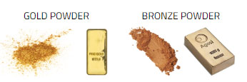 gold-and-bronze-powder